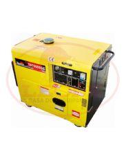 Gerador de Energia à Diesel - 6 KVA - Cabinado - 110/220V Mono - TD7000SGE