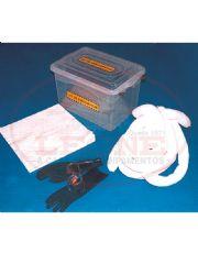 Kit Emergencial Ambiental - Conten��o de Vazamento - 25 litros