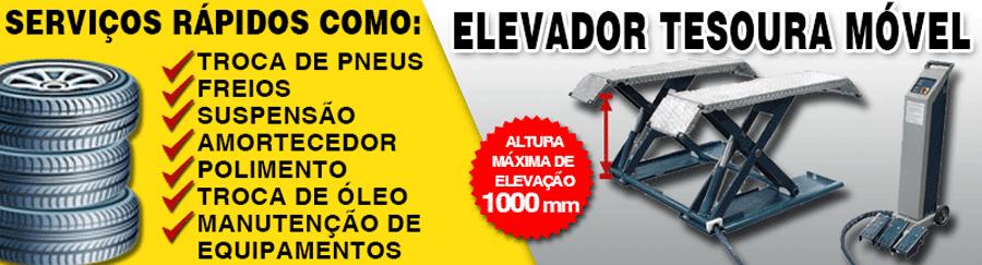 ELEVADOR TESOURA MOVEL