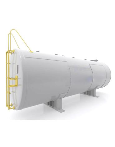 Tanque de Combustíveis Aéreo Horizontal