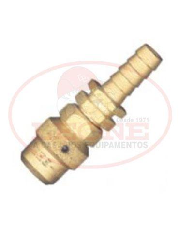 Esguicho Regulável de 1/2 polegada Fêmea - Aço