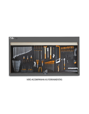 Armário para Ferramentas com Persiana em Alumínio C57SP/G - Beta