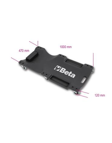 Carrinho Esteira em Plástico para Mecânico 3003 - Beta