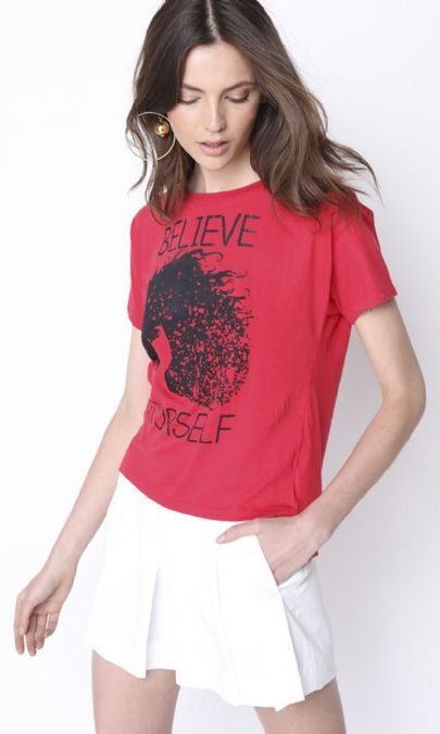 CAMISETA BELIEVE YOURSELF