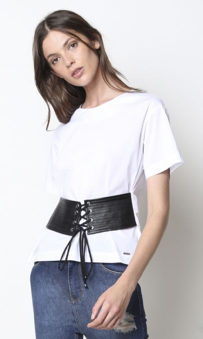 BLUSA LEATHER CAREY