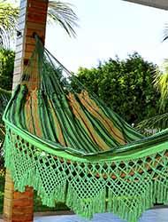 Rede de dormir Catarinense Verde