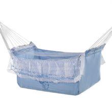 Rede de Dormir e Descanso Infantil Ber�o Azul Beb�