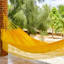 Rede de Dormir Sol a Sol Amarelo