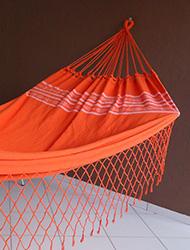 Rede de Dormir Pernambucana laranja full