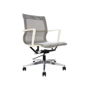 Cadeira Giratória em Tela Mesh - Chalk