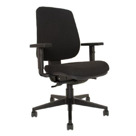 Cadeira Giratória Braço 2D - Loop Estofada - Aparelho 53