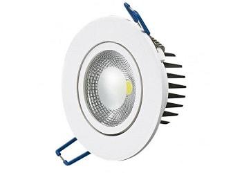 Luminária Led de Embutir Redonda 5w Bivolt 3000k Luz Branca Amarelada 325 Lumens P26195 Sylvania
