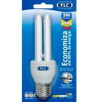 Lâmpada Eletrônica Dupla 9W X 220V Branca Fria (Luz Branca) E27  01010034 FLC