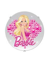 Plafon Licenciando Barbie Sem Lampada - 145700007 - Startec