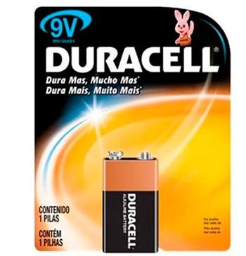 Bateria Alcalina 9Volts - Duracell