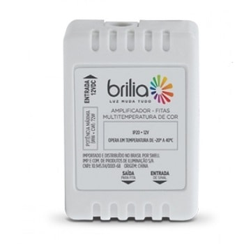 Amplificador  P/Fitas Led Multitemperatura De Cor 430613 Brilia