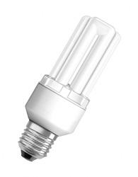 Lâmpada Eletrônica Tripla 20W X 220V Branca Fria  (Luz Branca) E27 Duluxstar - Embalagem com 6 Peças - 7008382 - Osram