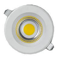 Super Led Downlight Redondo 30W Bivolt Luz Branca Fria 4200K IP20 - L0480-30 - B.Bauer