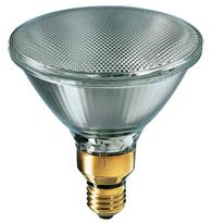 Lâmpada Par 38 100W X 127V Branca Quente (Luz Amarela) E27 30G - PAR38-100W 130-30 - Philips