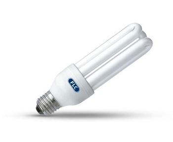 Lâmpada Eletrônica Tripla 15W X 127V Branca Quente Luz Amarelada E27 01010140 FLC