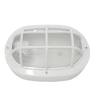 Luminária Tartaruga Oval Branca 60W 250V 16110 Ilumi