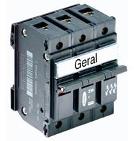 Disjuntor  Tripolar 60A Unic - 09953 - Pial Legrand