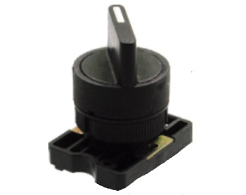 Botão Comutador com Manopla Curta PT 0-1 STECK SLMB8D0FP