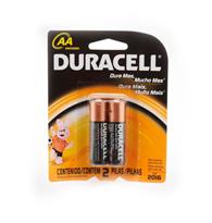 Pilha Alcalina Pequena AA - Duracell