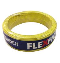 Cabo Fio Flexível 0,50mm 750V Rolo 100 Metros Amarelo - 09001 AM - Condex