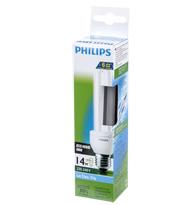 Lâmpada Eletrônica Eco Home Dupla 14W X 220V Branca Fria (Luz Branca) E27 PLD14W220ECOSTK  PHILIPS