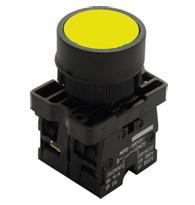 Botão a Impulsão Normal AM 22,5mm STECK - STECK - SLPRN8NA
