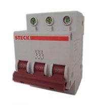 Disjuntor Mini Tripolar 125a Curva C - Sdd-3c125 - Steck