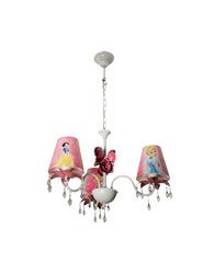 Lustre das Princesas Para 3 Lampadas Cromado - 143000005 - Startec