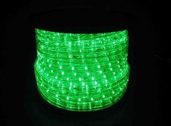 MANGUEIRA DE LED 2 FIOS VERDE 127V RL 100 MTS M-VD 127V B BAUER