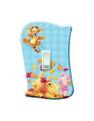 Placa Sem Interruptor Pooh Baby - 120900012 - Startec