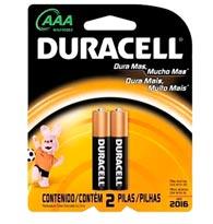 Pilha Alcalina Palito AAA - Duracell