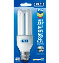 Lâmpada Eletrônica  Mini Tripla 15w X 220v Branca Fria (luz Branca) E27 01050389  Flc