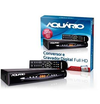 Conversor e Gravador Digital Full HD - DTV -8000 - Aquário
