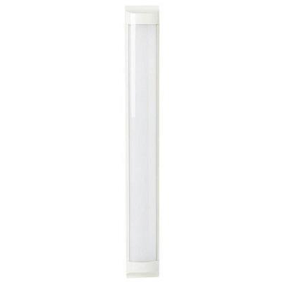 Luminária Led Linear Sobrepor 18w 0,60cm 6500k Luz Branca Fria 1600 Lúmens Bivolt Linear18w Bbauer