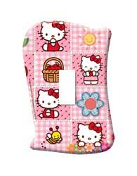 Placa Sem Interruptor Hello Kitty - 120900041 - Startec