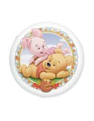 Plafons Licenciados Pooh Baby Sem Lampada - 21002004/145700001 - Startec