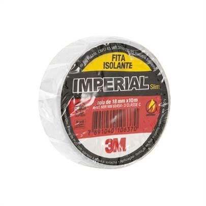 Fita Isolante Imperial Branca 18mmx20m HB004298020 3M