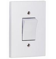 Interruptor Simples 4x2 10A 250V Cinza Aquatic 64201 Pial Legrand