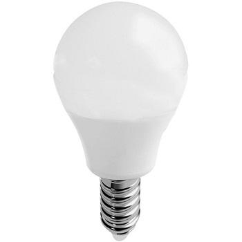 Lâmpada Led Míni Globo 3W Luz Branca Amarelada Bivolt 260 Lúmens E14 434154 Brilia