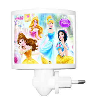 Mini Abajur Led Princesas 120700092 Startec