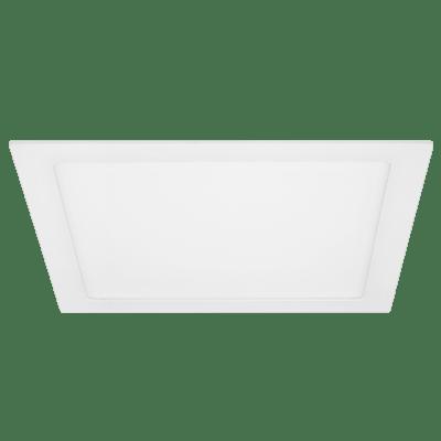 Luminária Painel Led Quadrado de Embutir 12W 17X17CM 3000K Luz Branca Amarelada 780 Lúmens 432976 Brilia