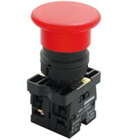 Botão Cogumelo (TIPO SOCO) A Impulsão 60MM - STECK - Código: S-PFN2M6NA N