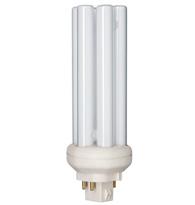 Lâmpada Compacta PL 4 Pinos 32W Branca Fria (Luz Branca) GX24q-3 - PLT4P32W/840NG - Philips