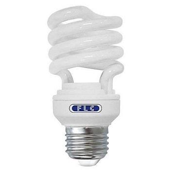 Lâmpada Espiral Mini 12W 220V E27 Branca Quente Luz Amarelada 01072072 FLC