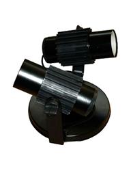 Spot Aletado Preto E27 Para 2 Lampadas Ate 60w - Sp17322pt - Kin Light